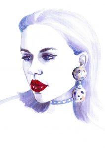 egith-van-dinther-fashion-model-watercolor-illustration