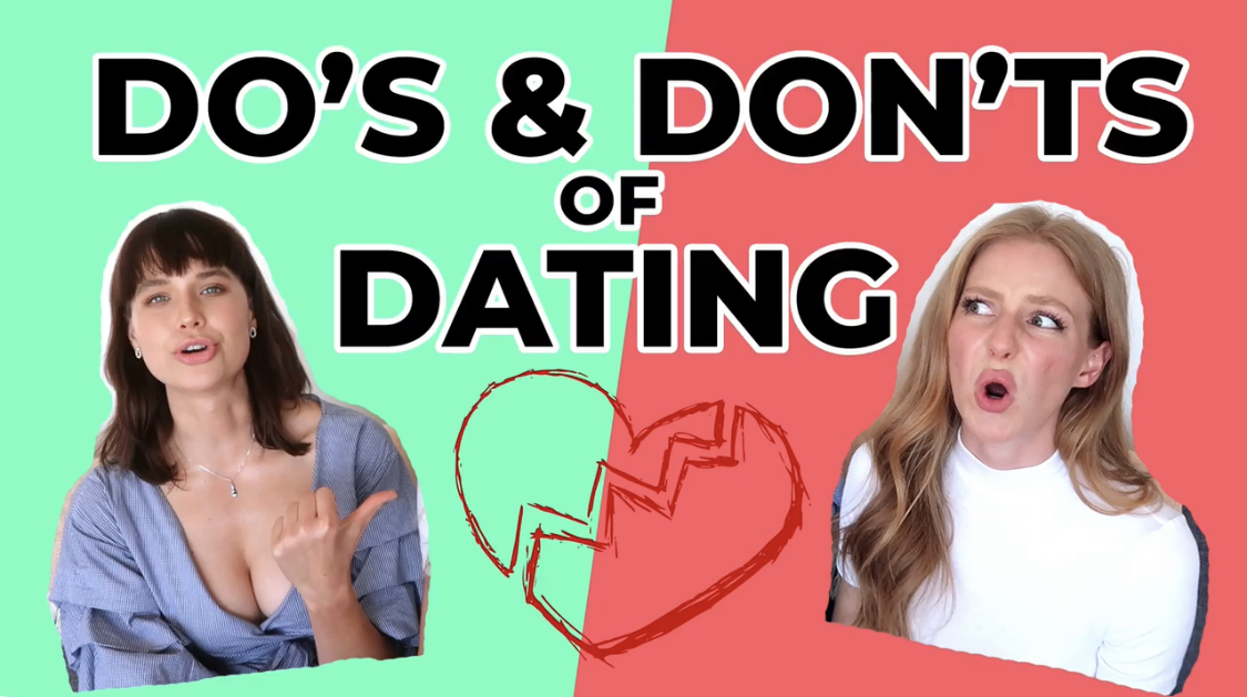 Youtube dating dos and donts